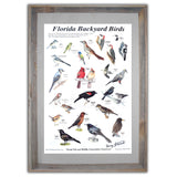 Bird Poster, Signed, Framed to 27x38