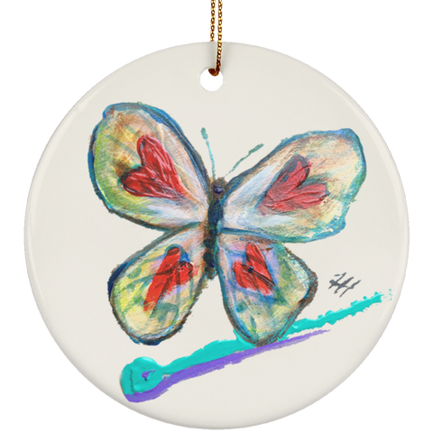 Dash Butterfly Ornament