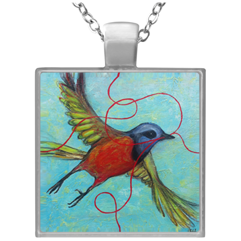 Painted Bunting Necklace