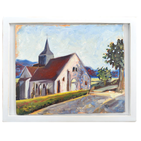 French Pink Church, 14 x 11
