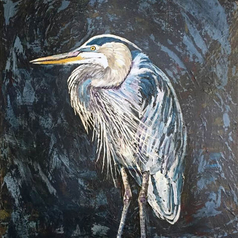 Great Blue, 24 x 36