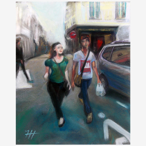 A Couple in Paris, Print
