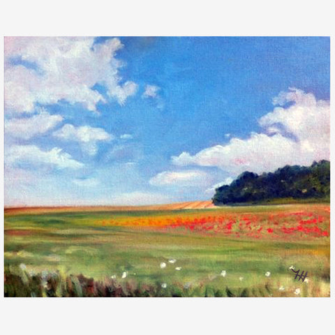 Poppy Meadow, Print