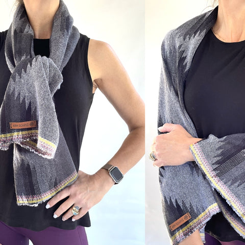 ArmScarvz, the SCARF that turns into SLEEVES! by Honey Hilliard
