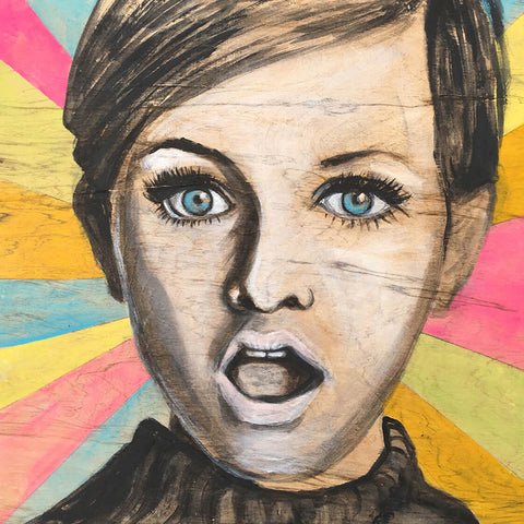 Twiggy Pop, SOLD 12x12