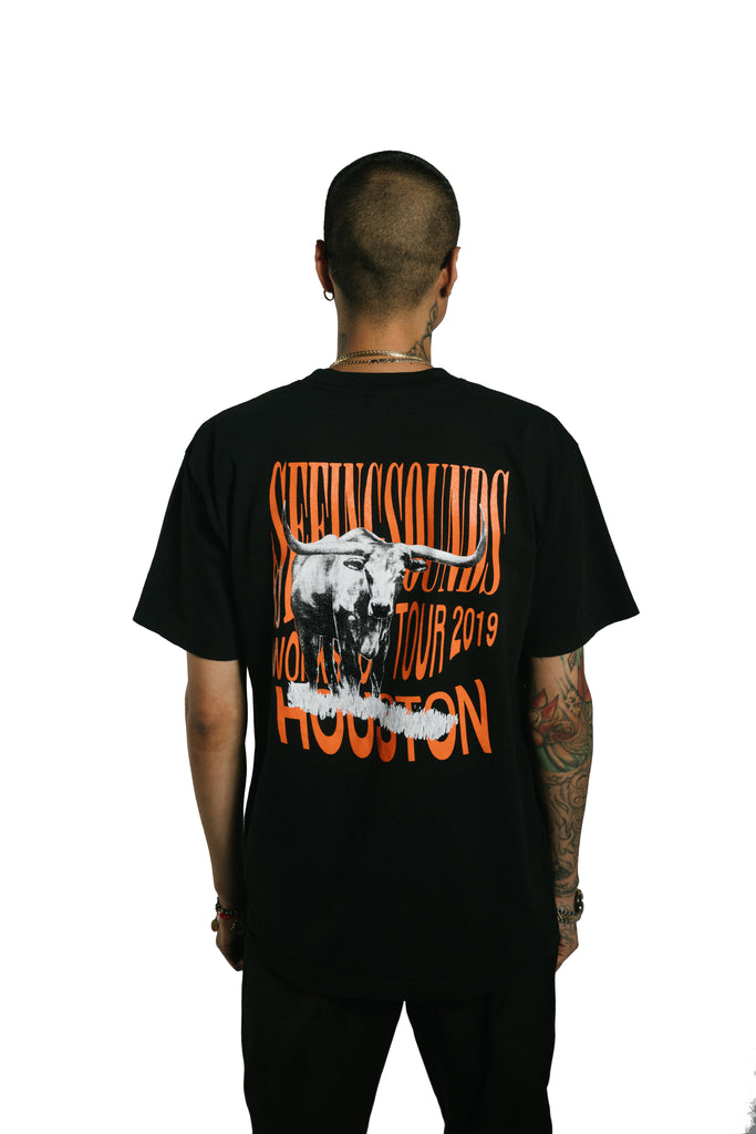 Seeing Sounds HOUSTON Short Sleeve T-Shirt