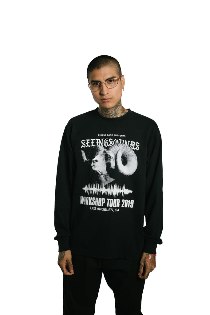 Seeing Sounds LOS ANGELES Long Sleeve T-Shirt