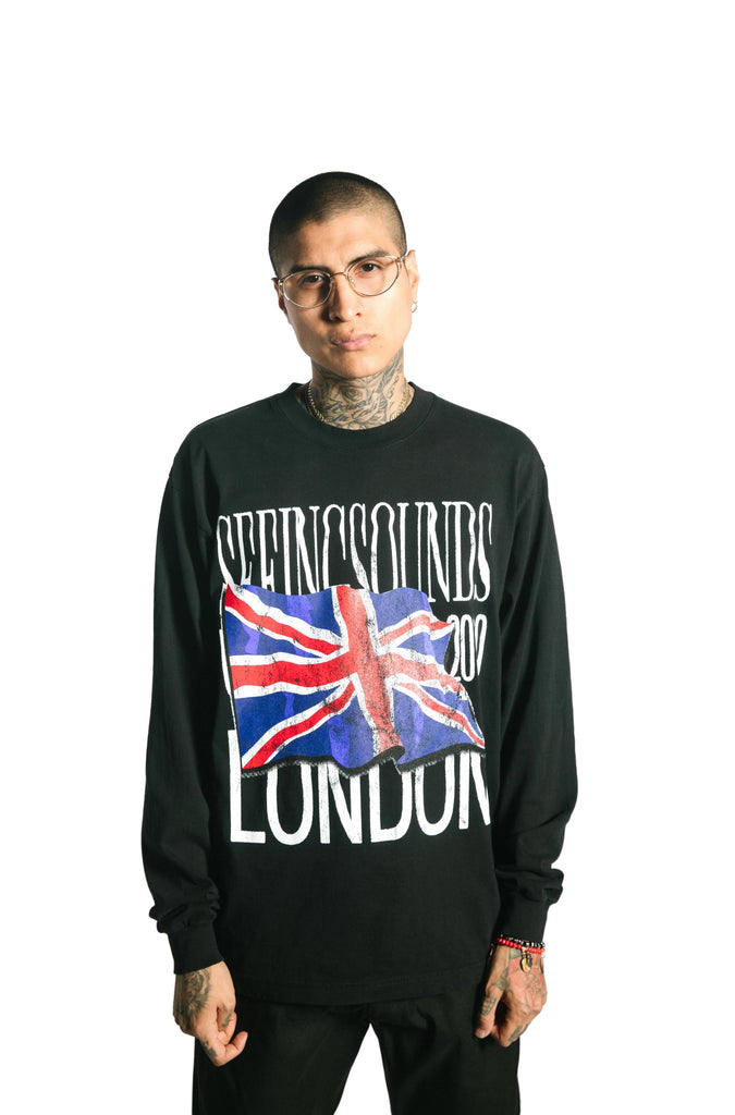 Seeing Sounds LONDON Long Sleeve T-Shirt