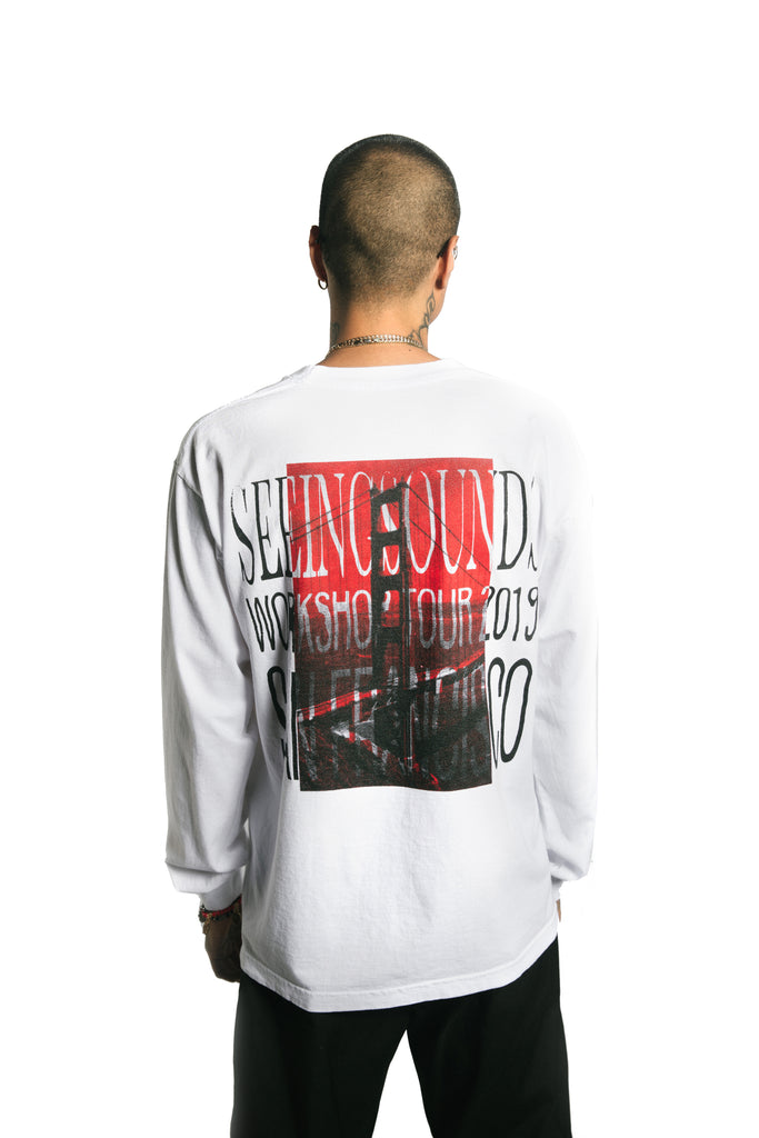 Seeing Sounds SAN FRANCISCO Long Sleeve T-Shirt