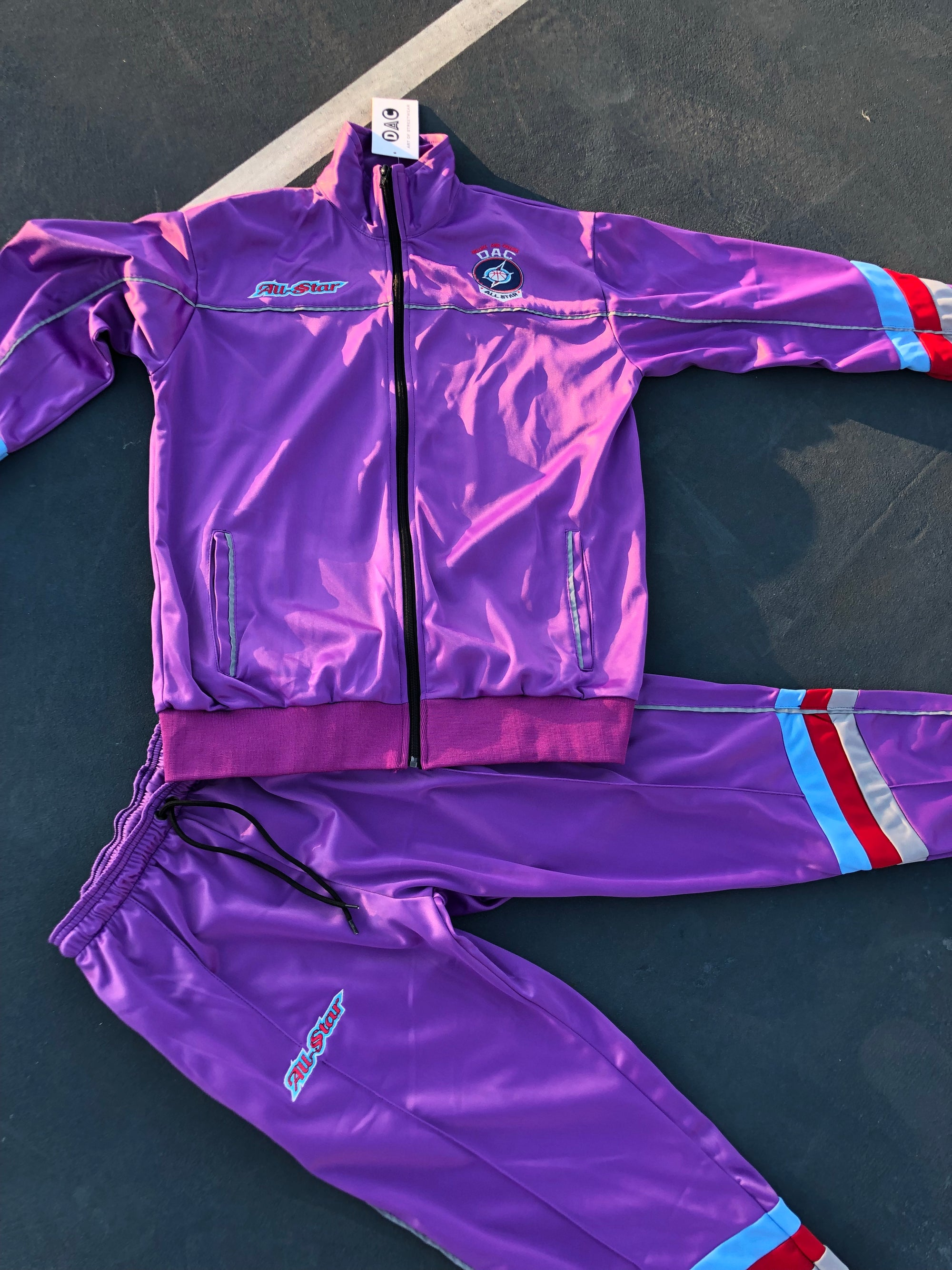 "3M Purple ""All-Star"" tracksuit"
