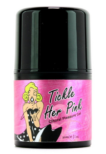 Tickle Her Pink Clitoral Pleasure Gel Pump in 1oz/30ml