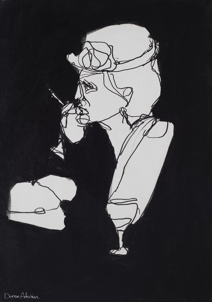 Woman smoking