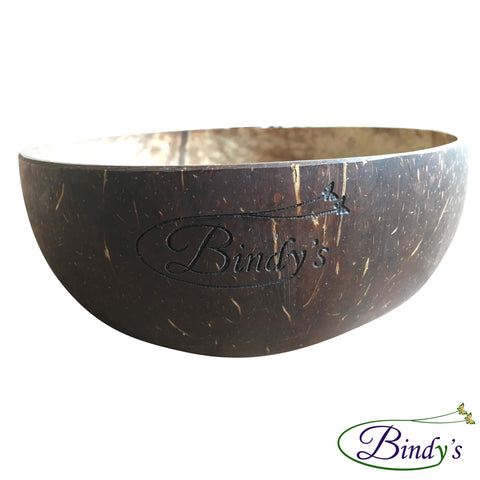 Coconut Bowl - Kokosnoot Kom - Handgemaakt In Bali - Smoothie Bowl - 100% Natuurlijk - Bindy's Shop