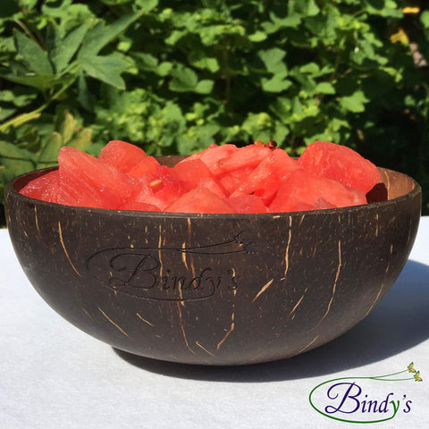 Image of coconut bowl met meloen