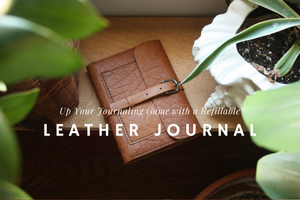 Sustainable Leather Journals by Heist
