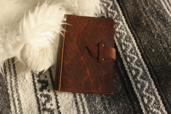 Dispatch Leather Journal Cover - Refillable