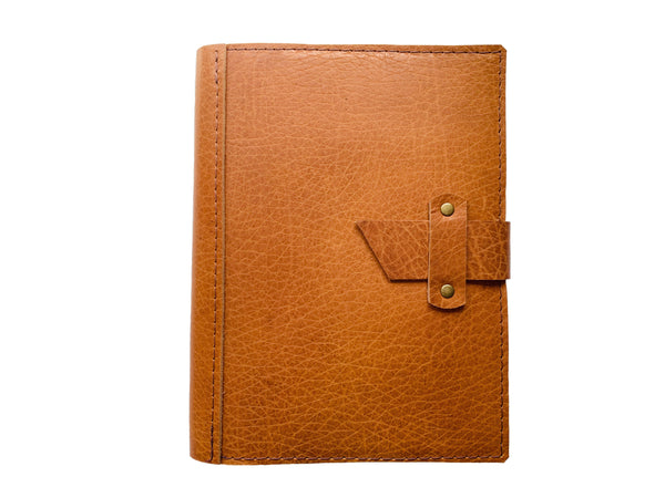 Dispatch Leather Journal Cover in Camel by Heist