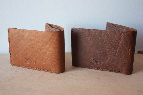 Handmade Leather Bifold Wallets by Heist