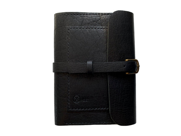 Leather Writing Journal in Black