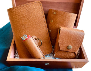 Wanderer Gift Set with Coozie | Camel