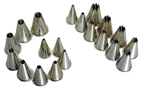 Nozzle Set Metal Plain