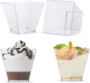 50ml Dessert Cups Square (30pcs)