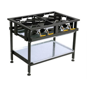 4 Burner Gas  Stove - Staggered
