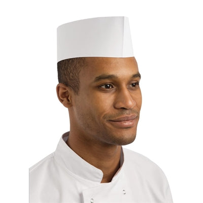 Disposable Chef Hat - Short (100pcs)
