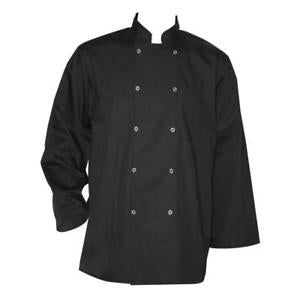 Chef Jacket -Long Sleeve -Black
