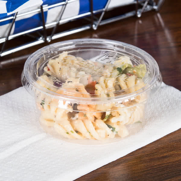 Coleslaw / Sauce Cups 3.25oz with lid (100pcs)