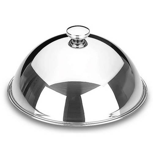 Food Cover Stainless Steel - Round - Dome Cloche