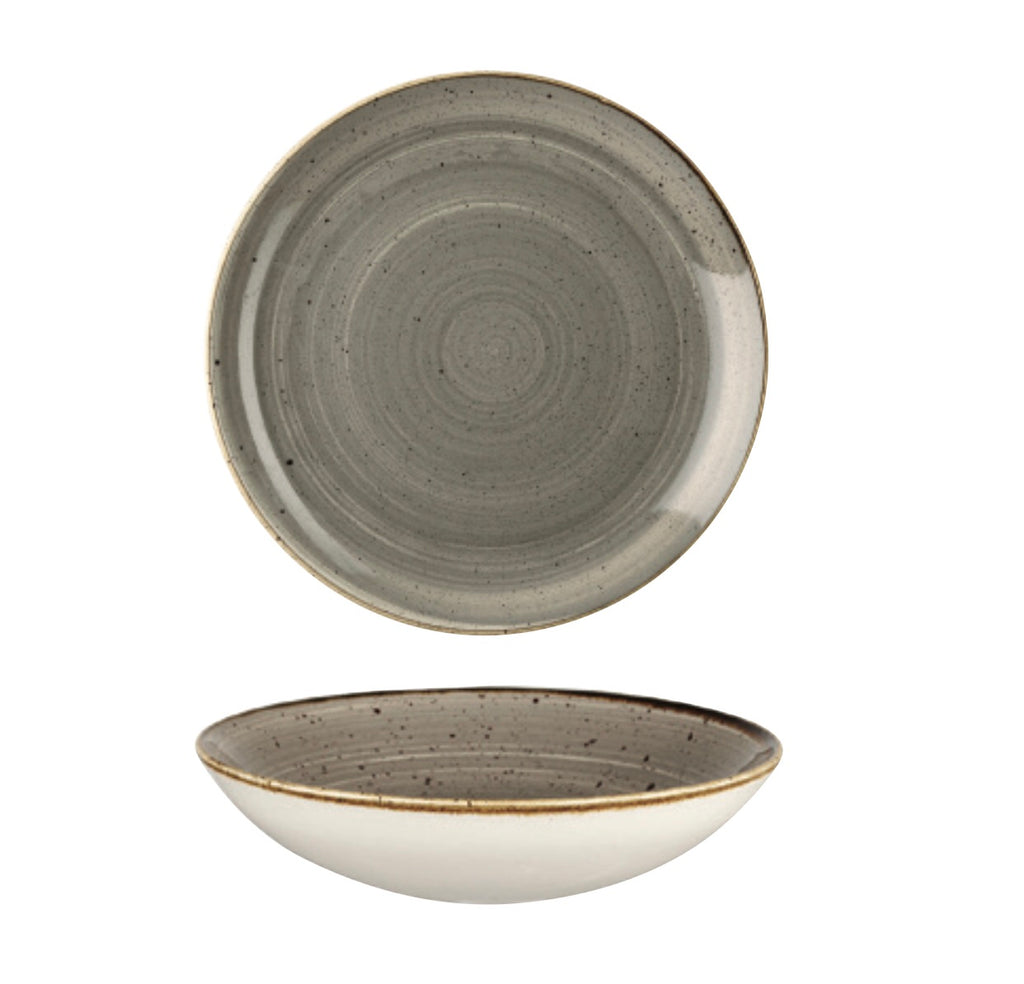 Coupe Bowl - Peppercorn Grey