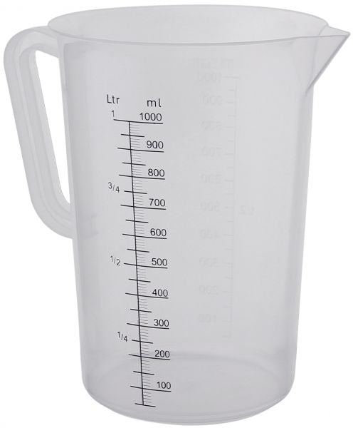 Measuring Jugs - Plastic - 1Lt