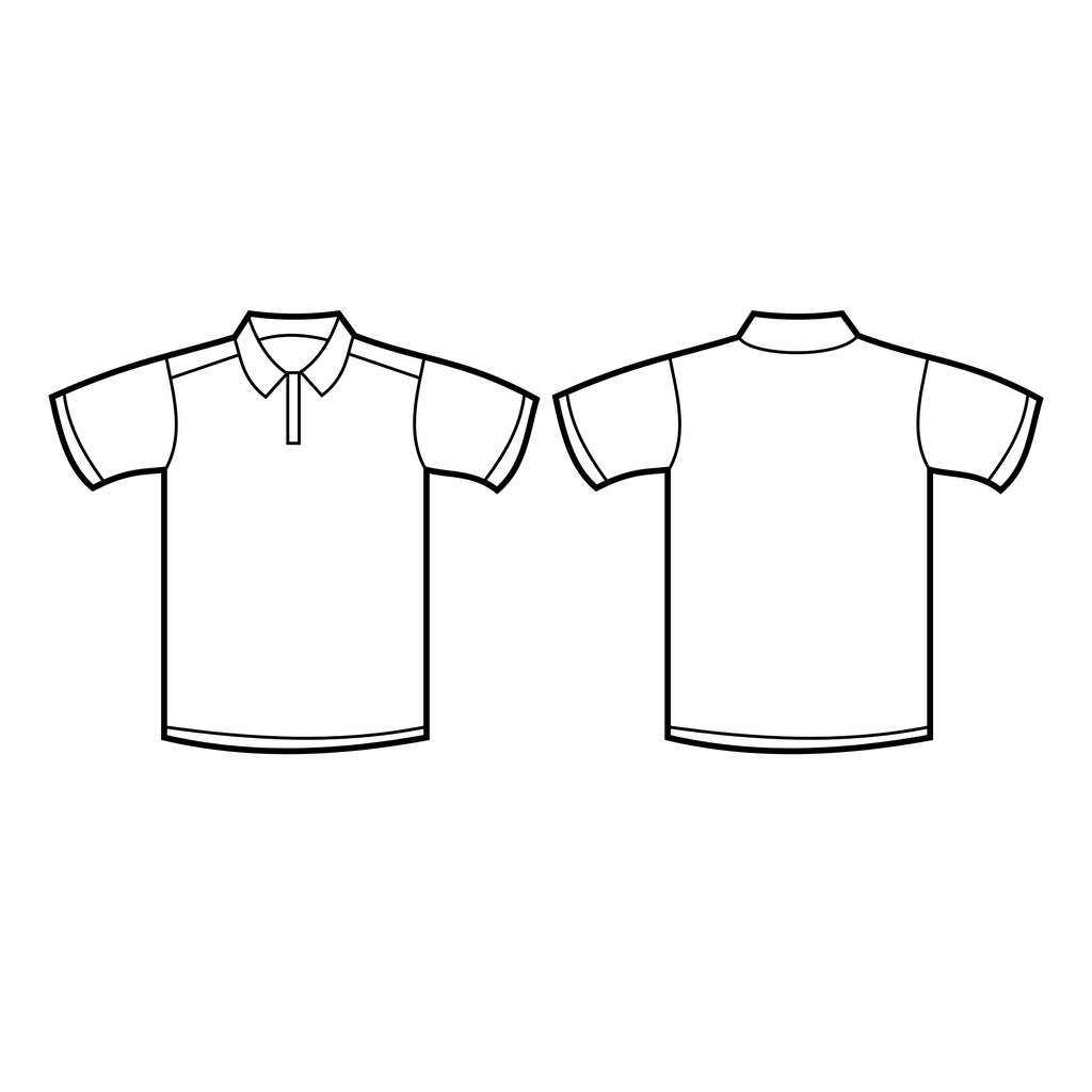 Polo T Shirt with embriodery