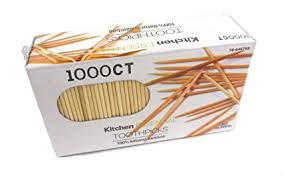 Individually Wrapped Toothpicks (1000pcs)