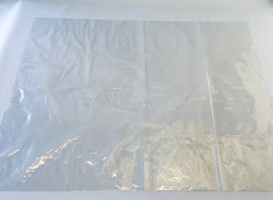 Large Clear Polythene Bag 120 x 90cm Medium Strength