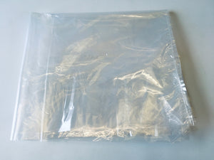 Large Clear Polythene Bag 170 x 75cm Medium Strength