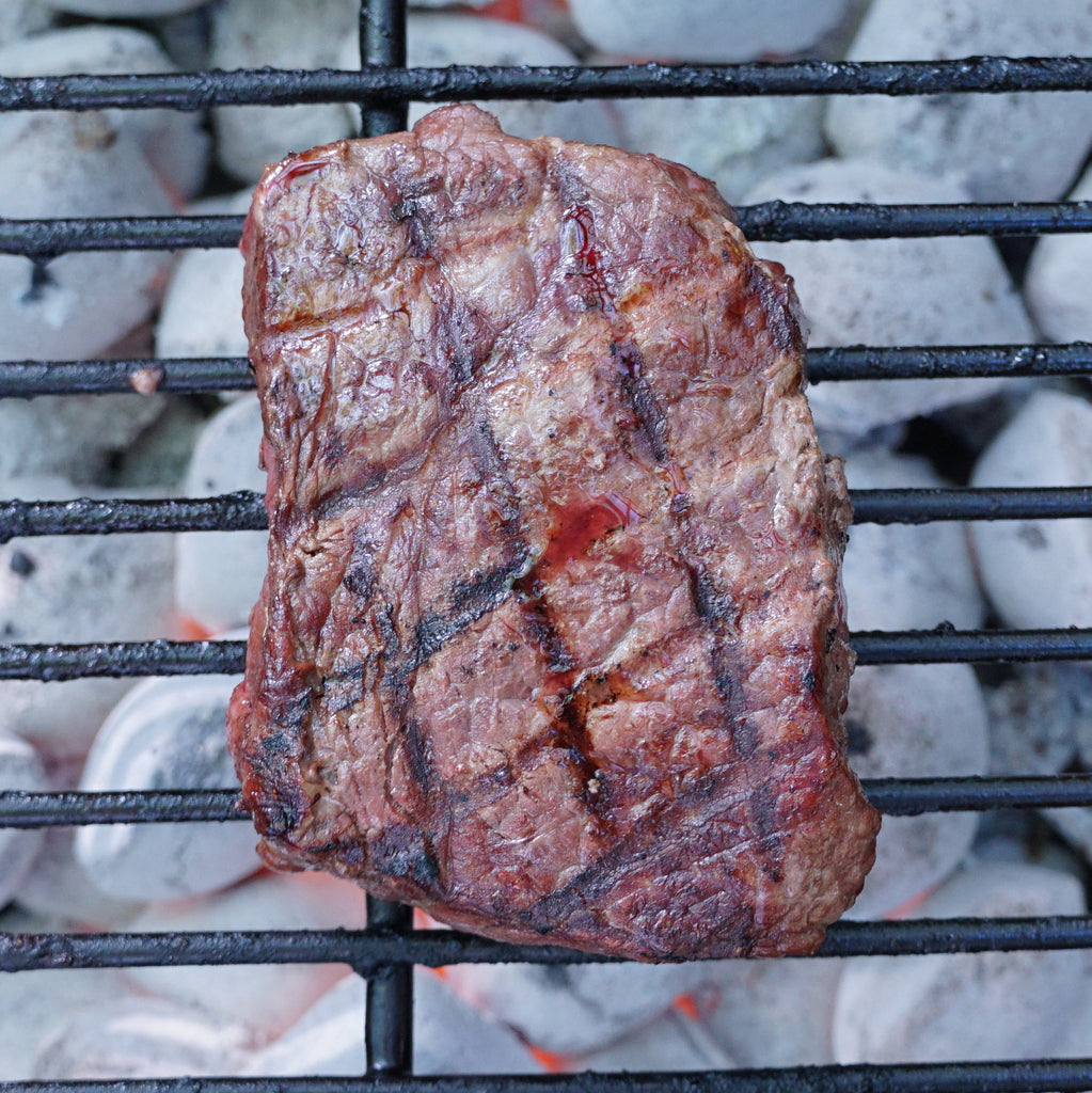 Sirloin steak grill