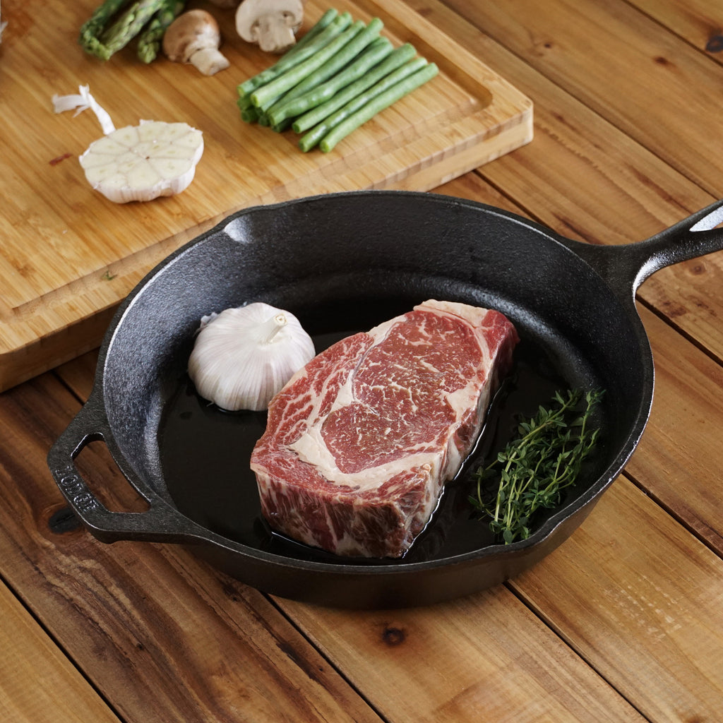 ribeye steak skillet