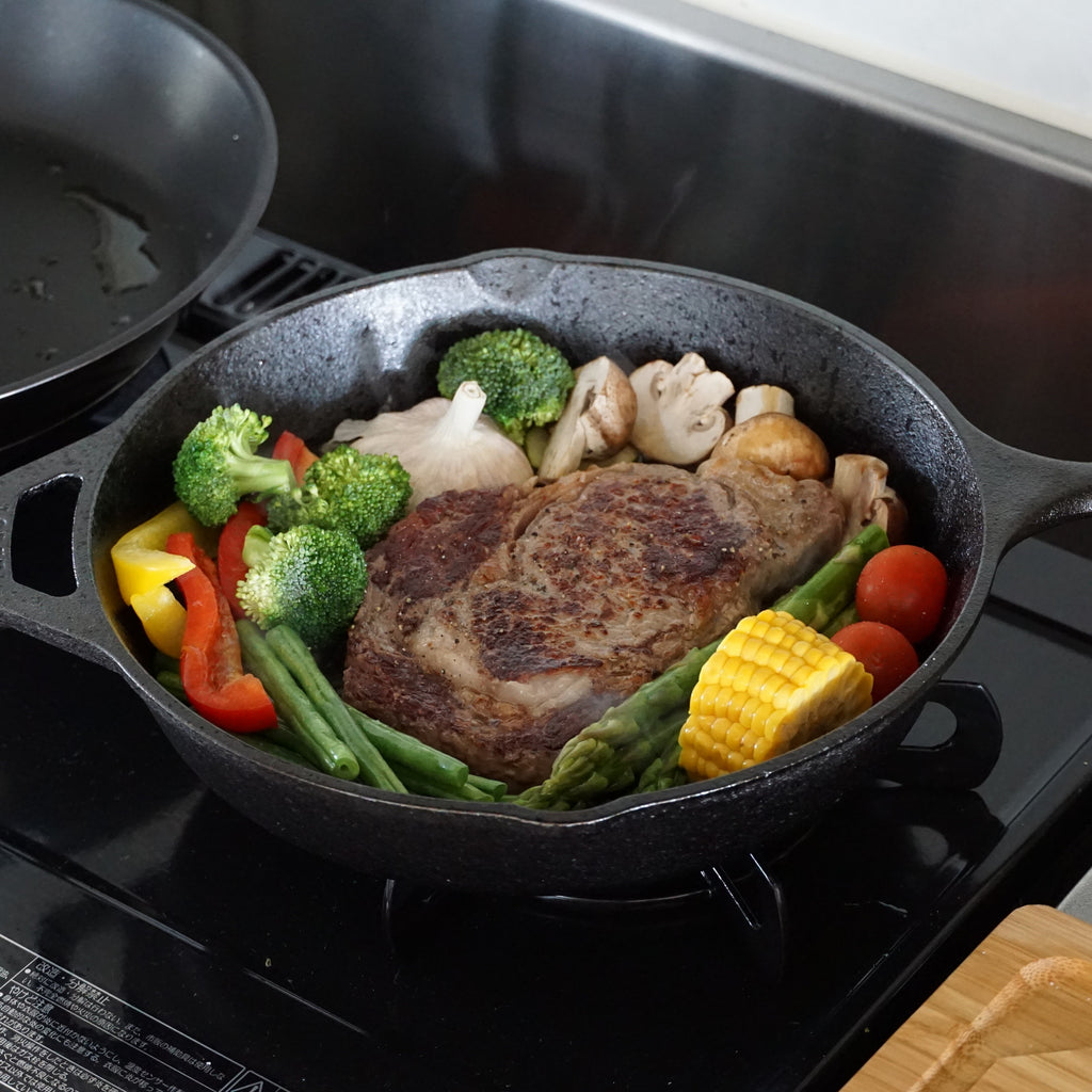 ribeye steak vegetables