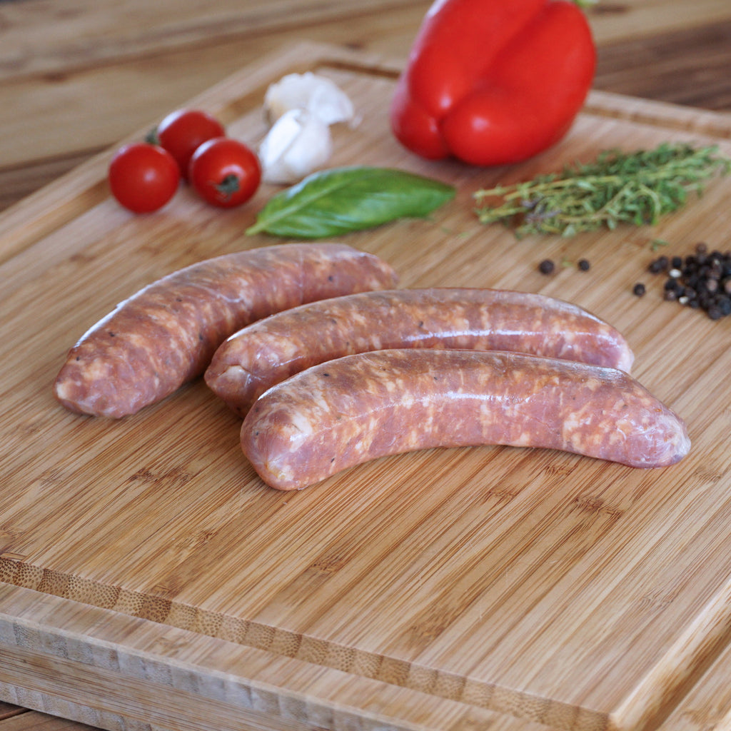 hot italian sausages raw