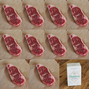 Morgan Ranch Beef Gift / Bundle Set - New York (10 Steaks) - Horizon Farms