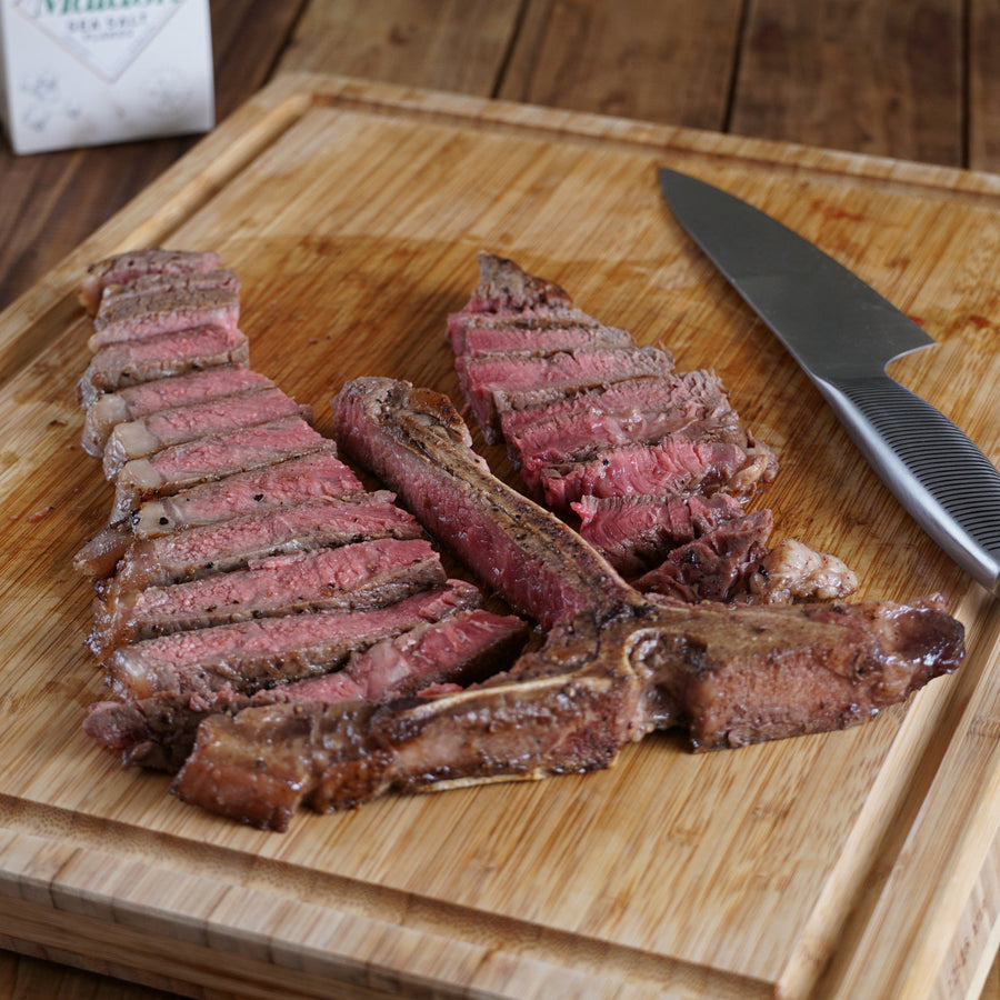 Morgan Ranch Beef Porterhouse Steak (500g) - Horizon Farms
