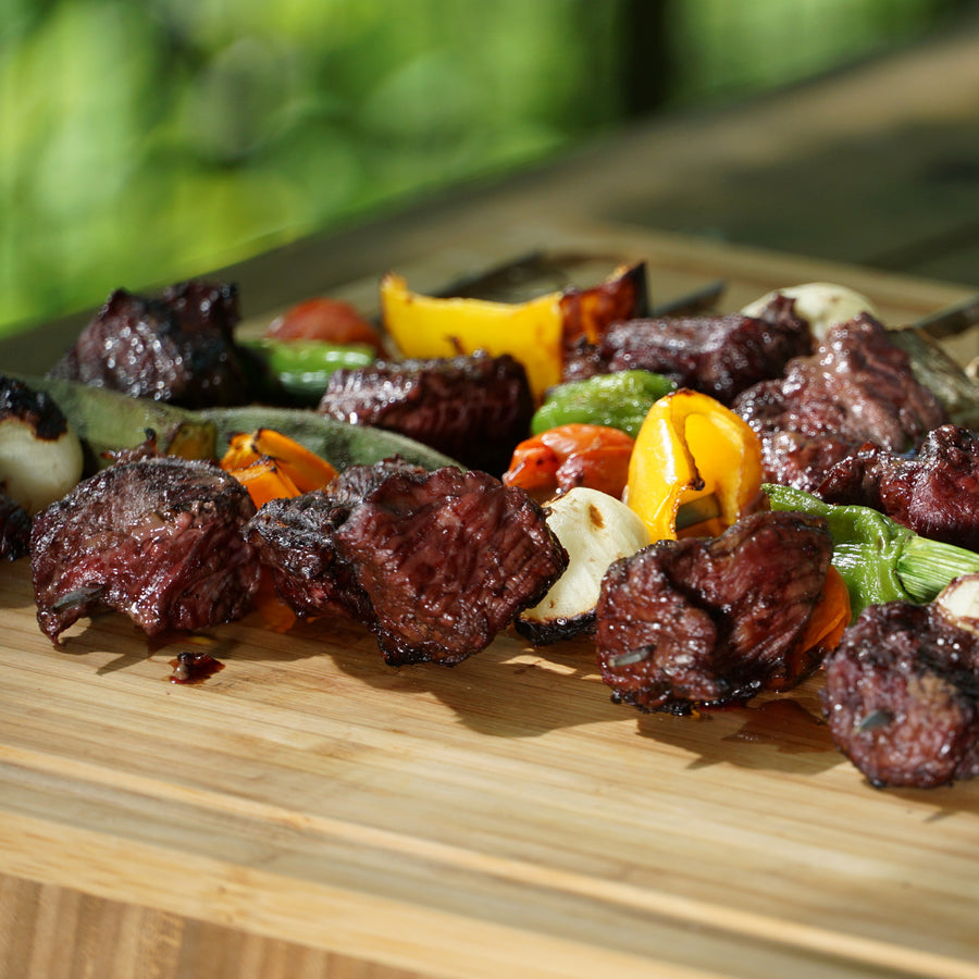 100% Grass-Fed Australian Beef Steak Cubes (250g)