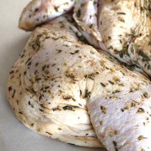 New Zealand Certified Organic Free-Range Whole Marinated Chicken (1.3kg) - Horizon Farms