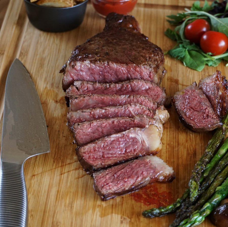Morgan Ranch Beef American Wagyu Striploin Steak (340g) - Horizon Farms