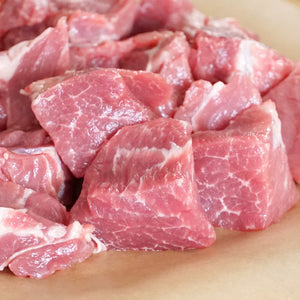 Wild Boar Shoulder Cut For Stew Meat / Cubes (450g) - Horizon Farms