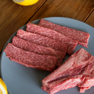 Morgan Ranch Beef Chuck Short Rib Steaks (200g) - Horizon Farms