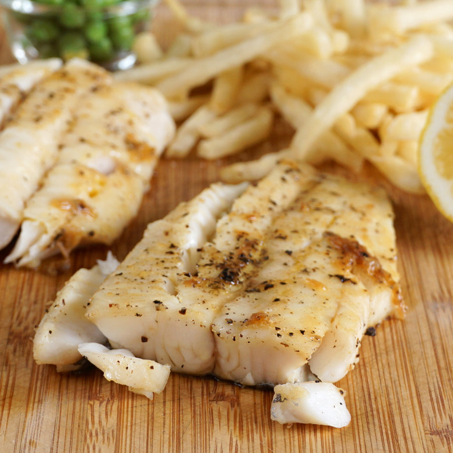 Wild-Caught New Zealand Blue Hake Fillets (450g) - Horizon Farms