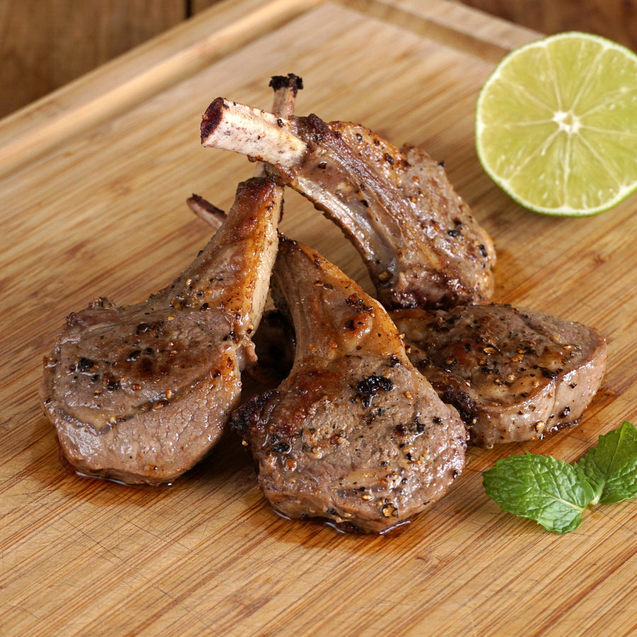 New Zealand Lamb Chops B-Grade (4pcs)